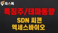 06/23(수) [특징주/테마동향] SDN, 씨젠, 엑세스바이오