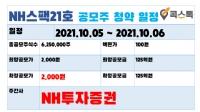 NH스팩21호 공모주 청약(10.5 ~ 10.6)